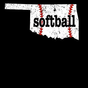 Oklahoma Fast Pitch Softball Slow Pitch Softball by shoppzee