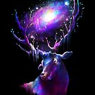 Deer Traveler by Lou Patrick Mackay