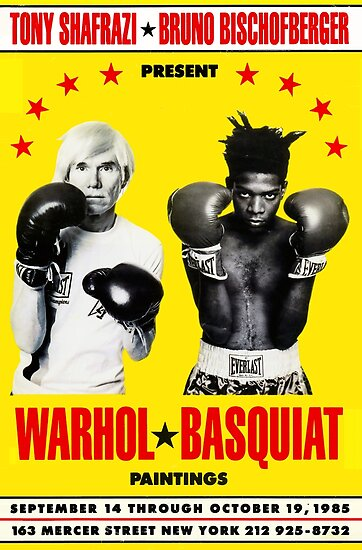 Basquiat Warhol Poster by chenvint