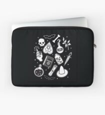 Witchy Essence Black Laptop Sleeve