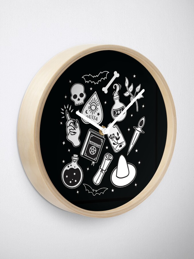 Alternate view of Witchy Essence Black Clock