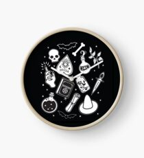 Witchy Essence Black Clock