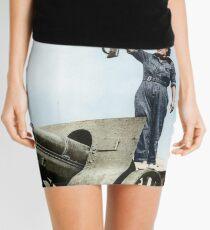 Spanish militia volunteer in Barcelona, 1936 Mini Skirt