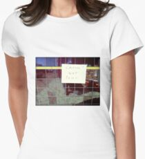 Silly Sign - Ceramic Tiles T-Shirt
