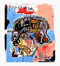 Basquiat skull Poster Photographic Print