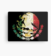 Mexico Coat of Arms  Metal Print