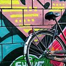 Graffiti Bicycle by Lea Valley Photographic