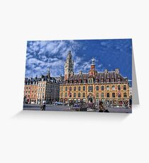 Grand' Place, Lille, France Greeting Card