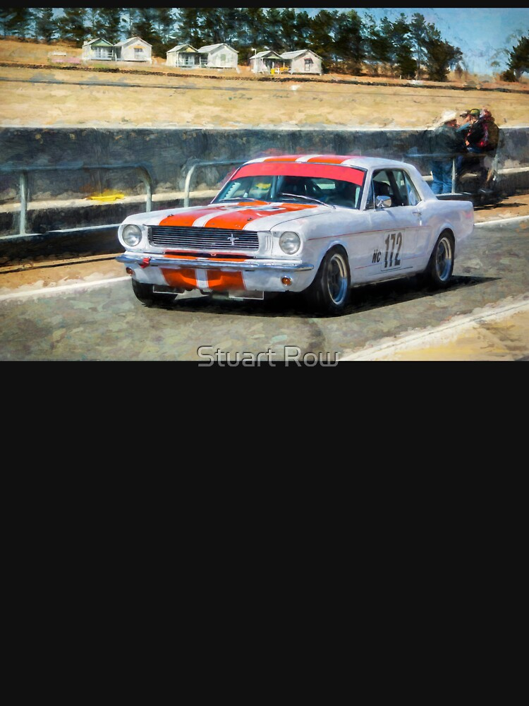 White Group N Mustang by StuartRow