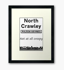 North Crawley DESIGN AVAILABLE ON OTHER ITEMS Framed Print