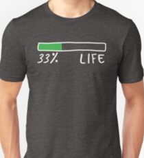 33% of LIFE (Green) Unisex T-Shirt