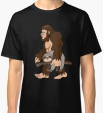 Bigfoot Sasquatch Carrying Sloth Robust Creative Believes Aparel Humanoid Monster No Yeti Shirt Sweater Hoodie Iphone Case Coffee Mug Gift Classic T-Shirt