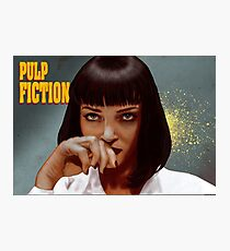 Mia Wallace - Pulp Fiction One Photographic Print