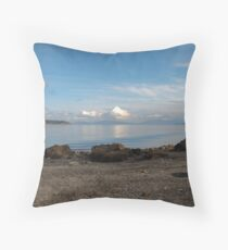 channel vista Throw Pillow