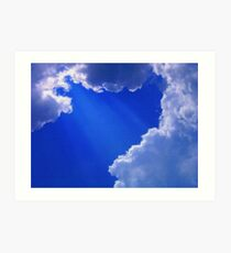 From My Cloud To Yours  Art Print