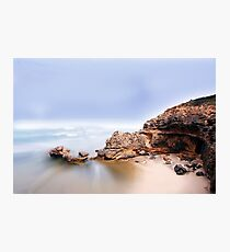 Mist rolling in Photographic Print