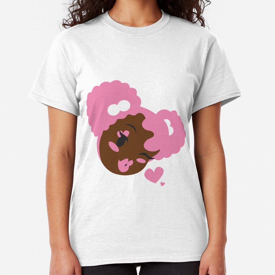 Pink Puffs and Kisses Classic T-Shirt
