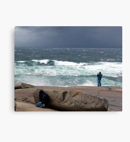 Just One more Shot Canvas Print