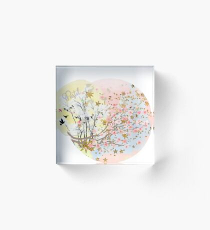 A Touch of Spring Acrylic Block
