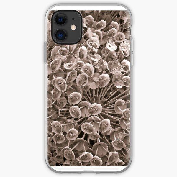 Sepia Nature Pattern iPhone Soft Case
