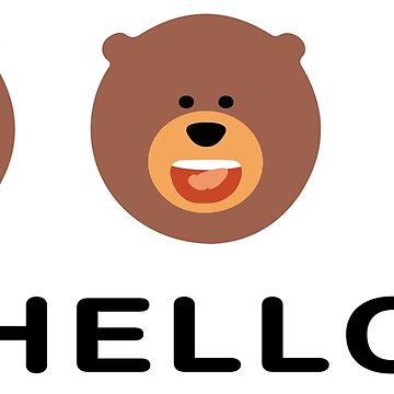 Hello from Spell Bear by bware-clothing