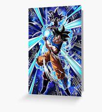 Ultra Instinct Goku Greeting Card