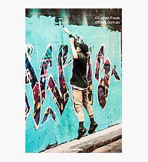 Laneway Artist Photographic Print