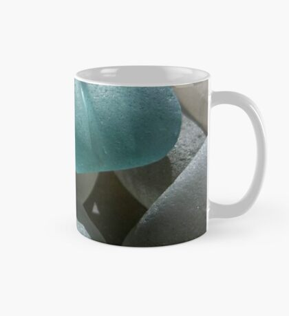 Sea Foam Green and Turquoise Sea Glass Mug