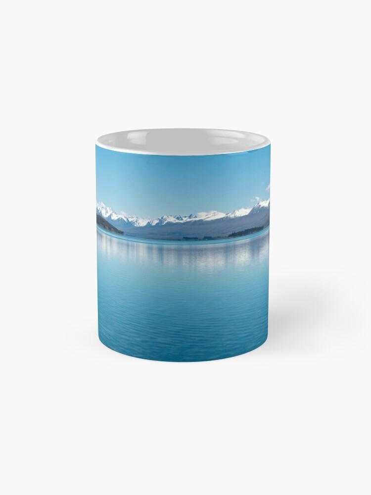 Alternative Ansicht von Blaue Linie Landschaft Tassen