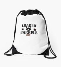 Loaded Barrels Drawstring Bag