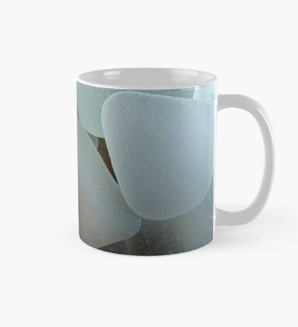 Shades of White Sea Glass Mug