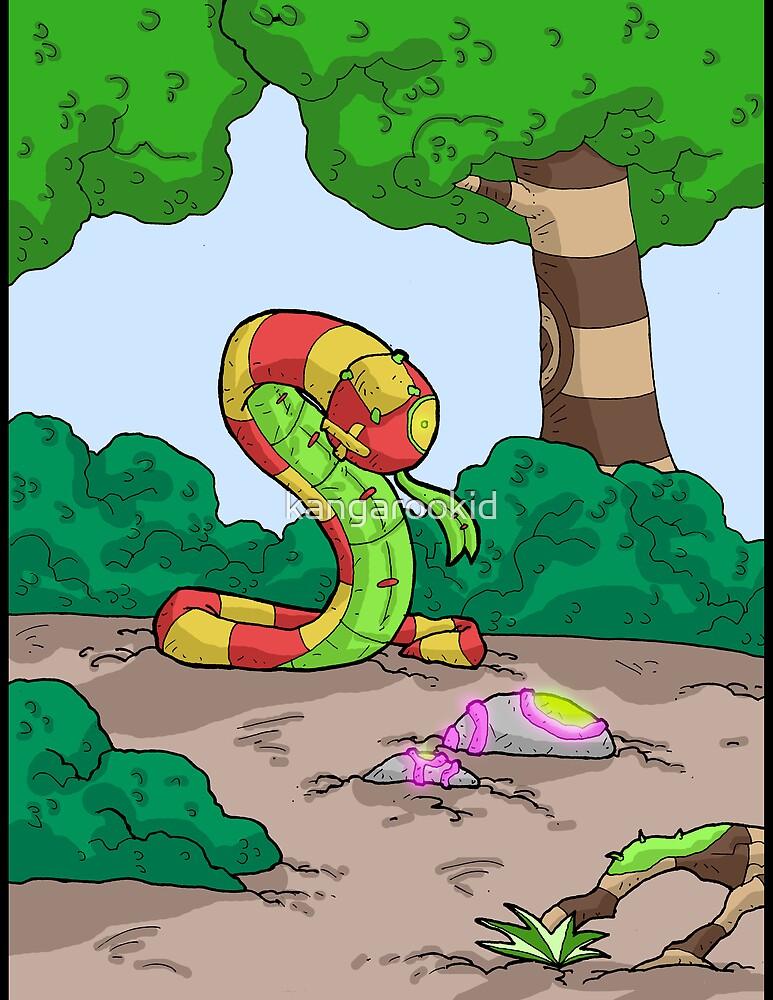stuffed snake print 02 by kangarookid