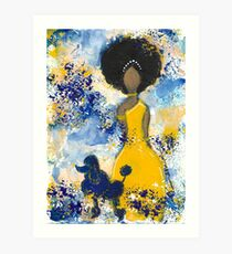 RHOyal Angel Art Print
