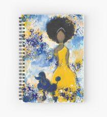 RHOyal Angel Spiral Notebook