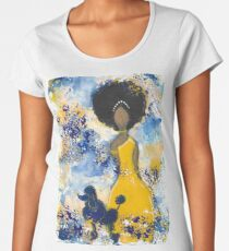 RHOyal Angel Women's Premium T-Shirt