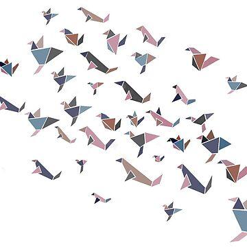 Triography birds by KWhaleBone
