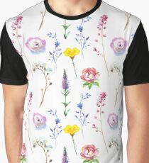 Wild Flower Party Graphic T-Shirt
