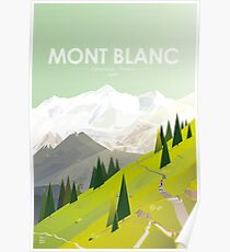 Alone In Nature - 06 - Mont Blanc France - There High Poster