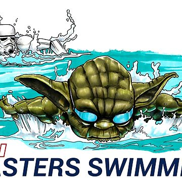 Masters Swimming by DrawnToTheSea