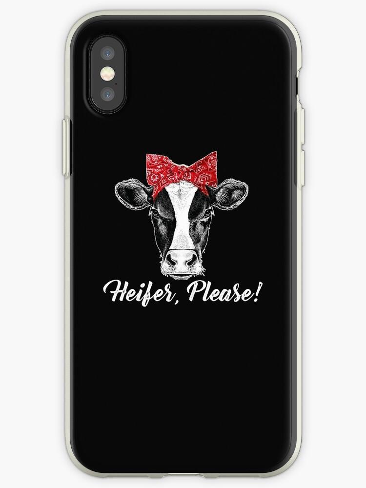 Heifer, Please Farmer Gift Cow Lovers