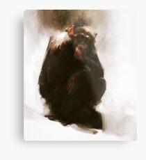 Ape Metal Print
