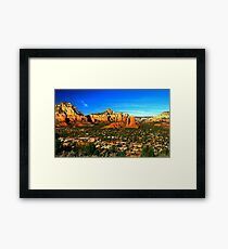 The Town of Sedona Framed Print