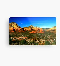 The Town of Sedona Metal Print