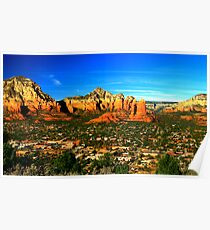 The Town of Sedona Poster