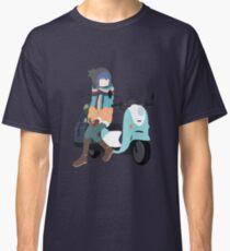 Yuru Camp△ - Shima Rin and Scooter Classic T-Shirt