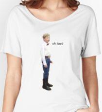 Yodeling Walmart Kid Meme Oh Lawd Women's Relaxed Fit T-Shirt