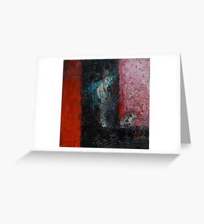 Baudelaire 1. - quadruptych Greeting Card