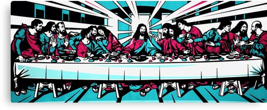 The Last Supper by jamieleeart