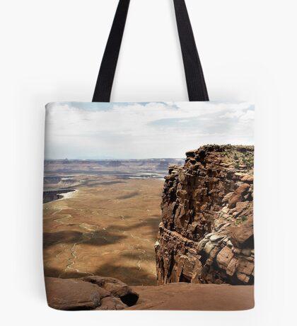 Cliff's Edge At Canyonlands, Utah Tote Bag