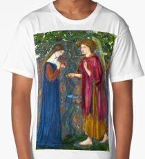 Edward Burne-Jones The Annunciation Long T-Shirt